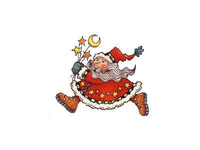 Greetings Santa82 Color Christmas