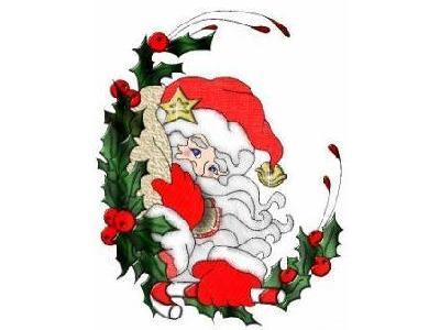 Greetings Santa85 Color Christmas