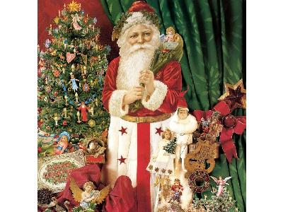 Greetings Santa86 Color Christmas