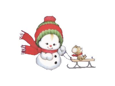 Greetings Snowbaby04 Color Christmas