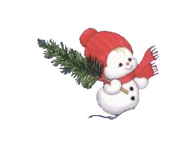 Greetings Snowbaby06 Color Christmas