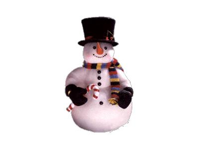 Greetings Snowman10 Color Christmas