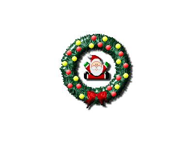 Greetings Wreath13 Color Christmas