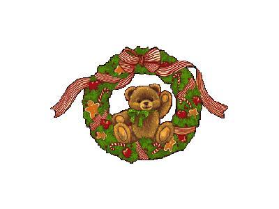 Greetings Wreath16 Color Christmas