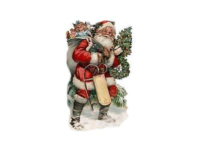 Greetings Santa47 Color Christmas