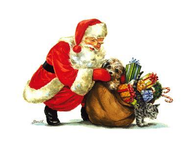 Greetings Santa51 Color Christmas
