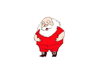 Greetings Santa74 Color Christmas