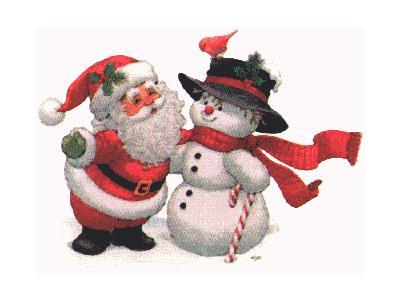 Greetings Santa92 Color Christmas