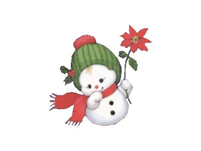 Greetings Snowbaby05 Color Christmas