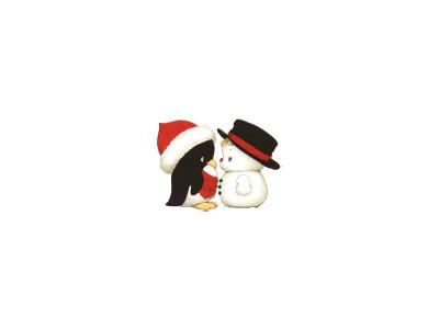 Greetings Snowman17 Color Christmas