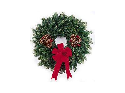 Greetings Wreath07 Color Christmas