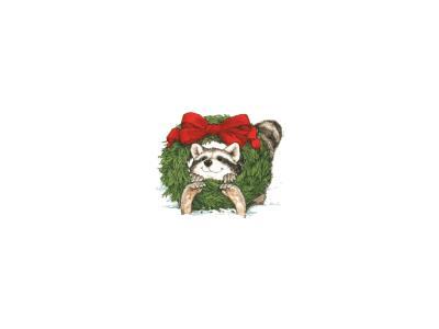 Greetings Wreath15 Color Christmas