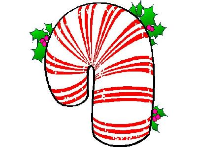 Greetings Candy Cane05 Color Christmas