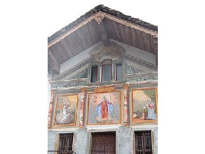Photo Church Gable Paintings Building