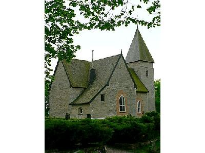 Photo Medieval Country Church Building