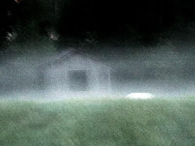 Photo Old Barn At Night 2 Building