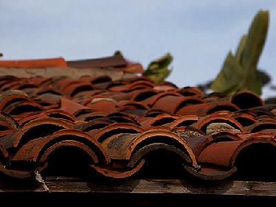 Photo Roofing Tiles Building
