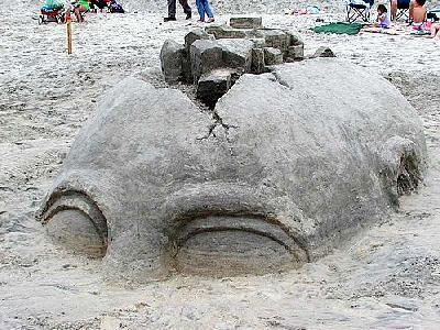 Photo Sand Statue 2 Building