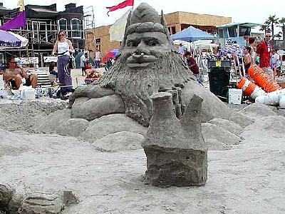 Photo Sand Statue 3 Building