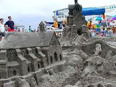 Photo Sand Statue 5 Building