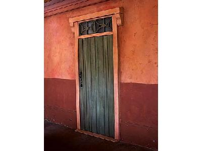 Photo Wooden Doorway Building