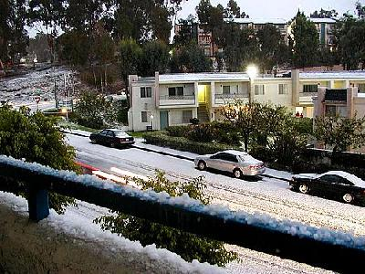 Photo Snow Street City