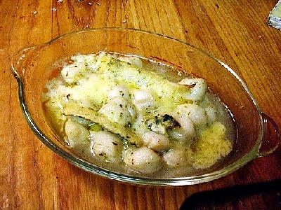Photo Baked Scallops Food