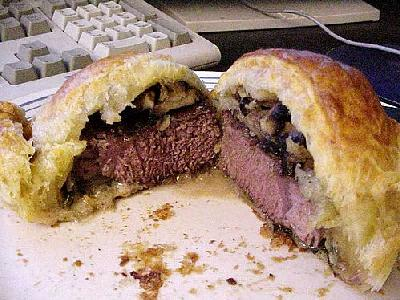 Photo Beef Wellington Food