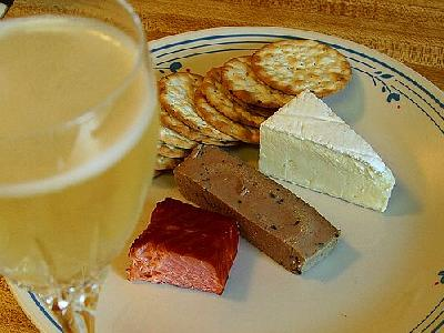 Photo Brie Cheese Plate Food