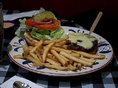 Photo Burger And Fries Food