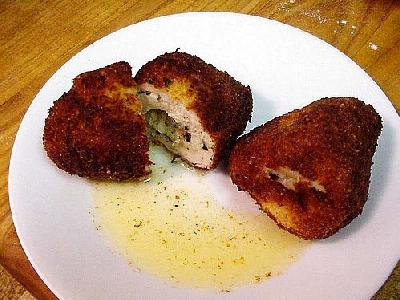 Photo Chicken Kiev Food