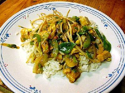 Photo Chicken Stir Fry Food