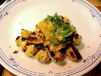 Photo Chicken Tikka Food