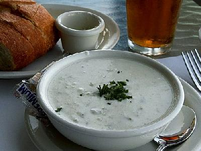 Photo Clam Chowder Food