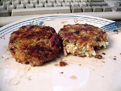 Photo Crabcakes Food