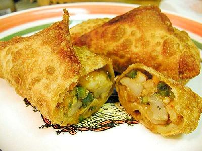 Photo Eggrolls Food