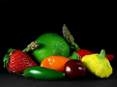 Photo Fruits And Vegetables Food