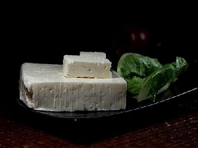 Photo Greek Feta Cheese Food