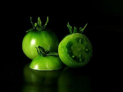 Photo Green Tomatoes Food