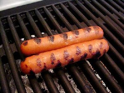 Photo Grilled Hotdoggies Food