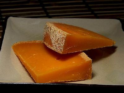 Photo Mimolette Cheese Food