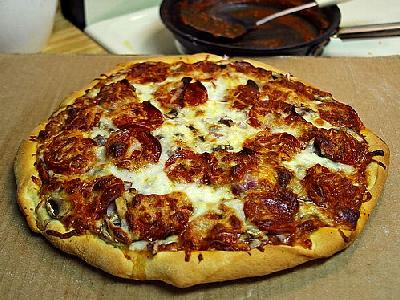 Photo Pizza Pepperoni Food