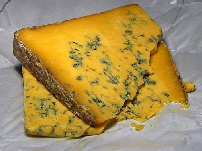 Photo Shropshire Blue Cheese Food