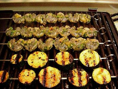 Photo Caribbean Shrimp Grill Food