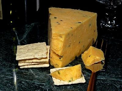 Photo Cotswold Double Gloucester Cheese Food