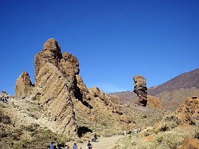 Photo Strange Rock Formations Landscape