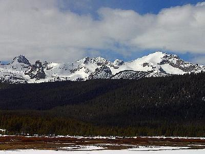 Photo Sawtooths Landscape