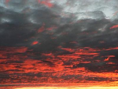 Photo Red Clouds 2 Landscape