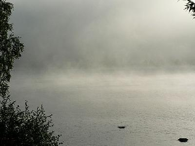 Photo Morning Mist Over Lake 2 Landscape