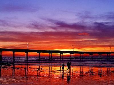 Photo Sunset 2 Ocean